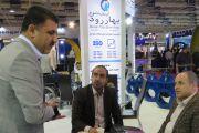بازدید مسئولین استان آذربایجان غربی ازغرفه آبرسان طلوع بهاررود