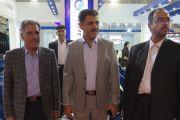 بازدید مسئولین آب و فاضلاب استان کرمان از غرفه شرکت آبرسان طلوع بهاررود